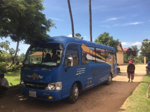 The Khmer Magic Music Bus